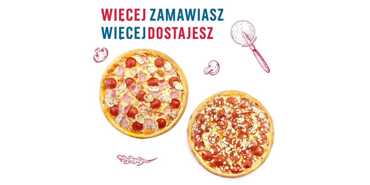 Domino's Pizza: -40% na dwie pizze