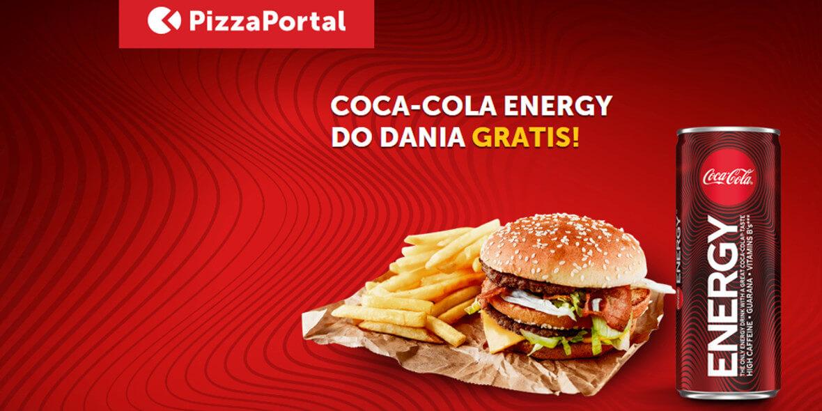 Coca-Cola Energy do dowolnego dania
