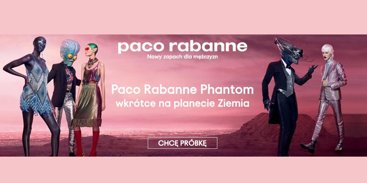 Notino: DARMOWA próbka perfum Paco Rabanne Phantom 03.08.2021