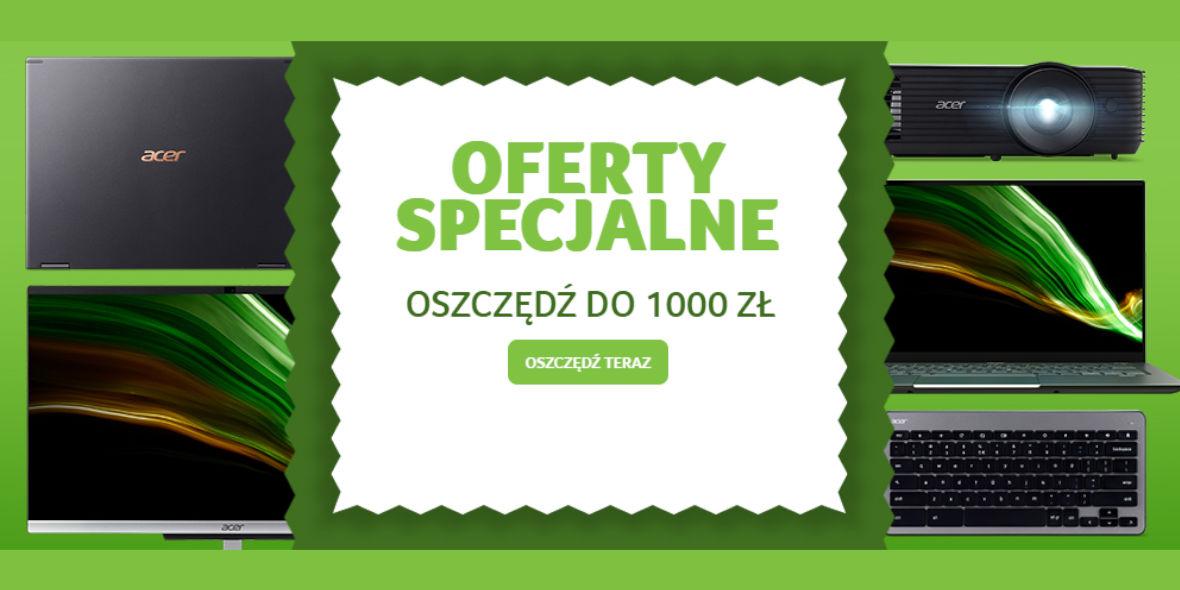 Acer: Do -1000 zł na wybrane urządzenia Acer