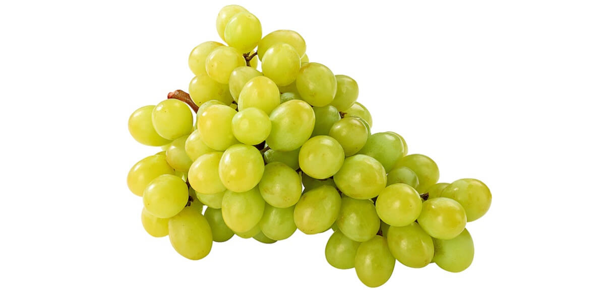 na winogrono jasne bezpestkowe