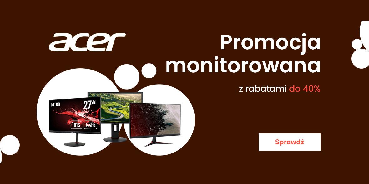 morele.net:  Kod: do -40% na monitory Acer 15.07.2021