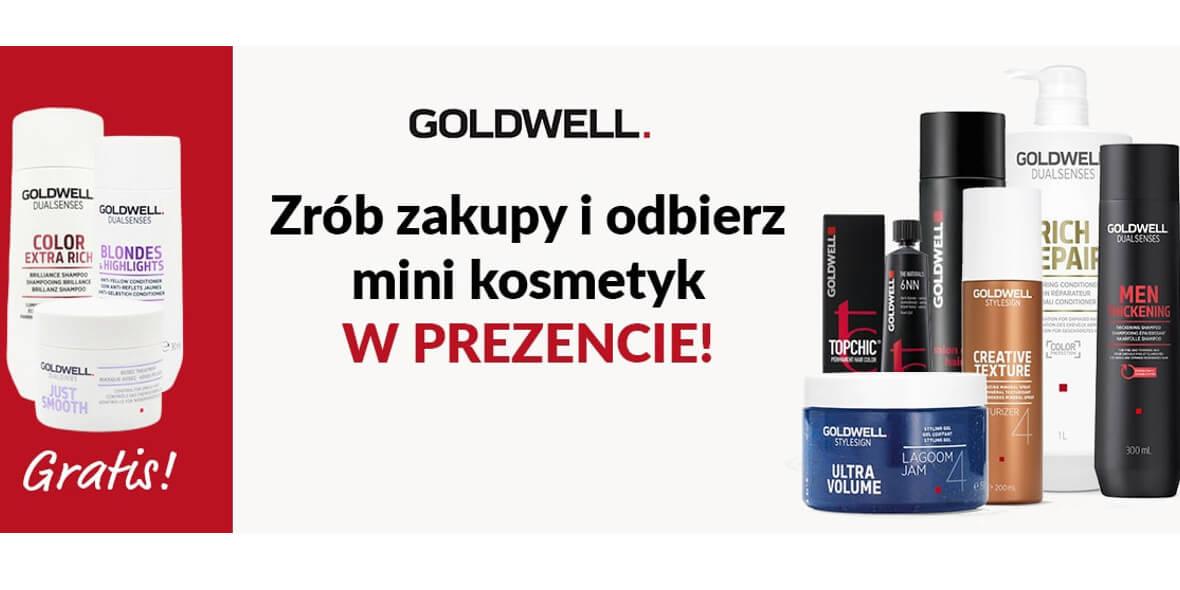 przy zakupie produktów Goldwell