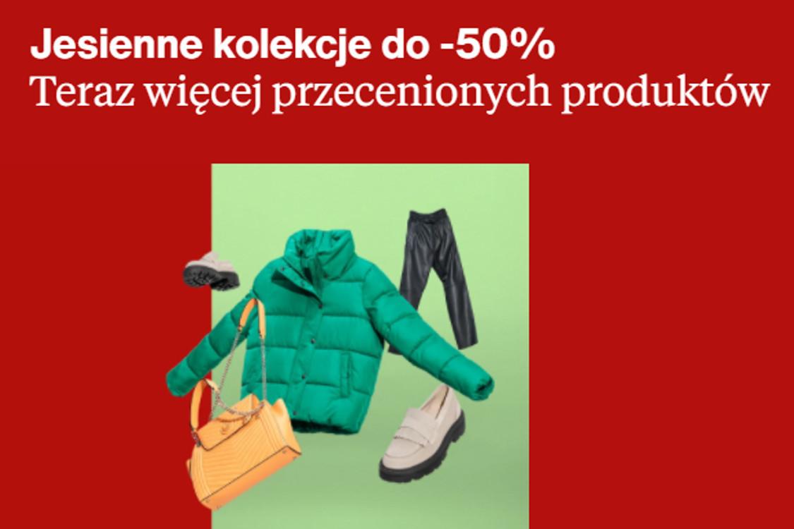 Zalando: Do -50% na jesienne kolekcje 13.10.2021