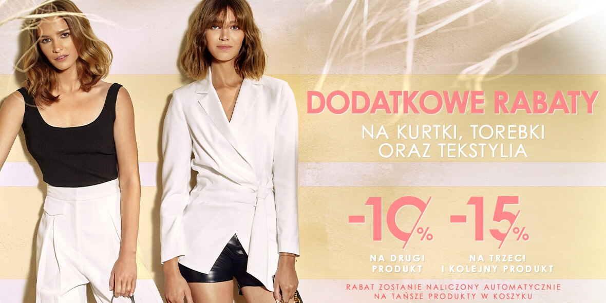 Ochnik: Do -15% dodatkowo na kurtki, torebki oraz tekstylia 05.08.2021