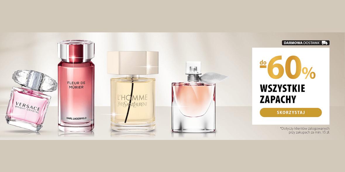hebe: Do -60% na wszystkie perfumy 08.04.2021