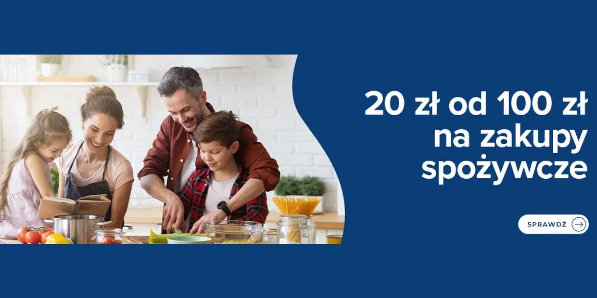 Carrefour: Kod: -20 zł za zakupy spożywcze od 100 zł 23.06.2021