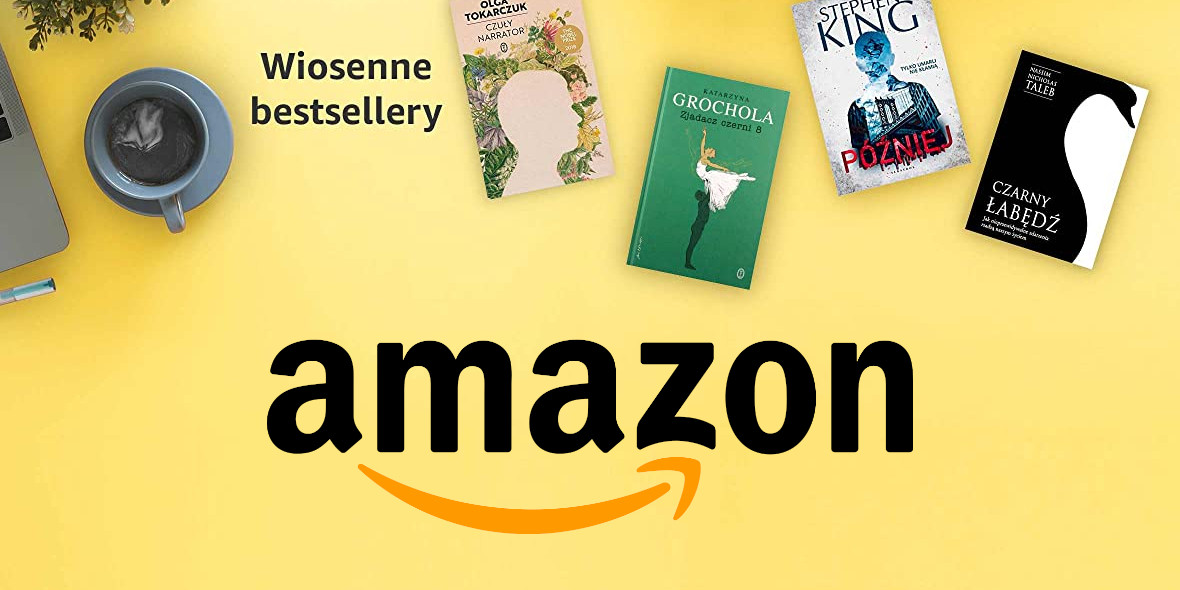 Amazon:  Wiosenne bestsellery 27.04.2021