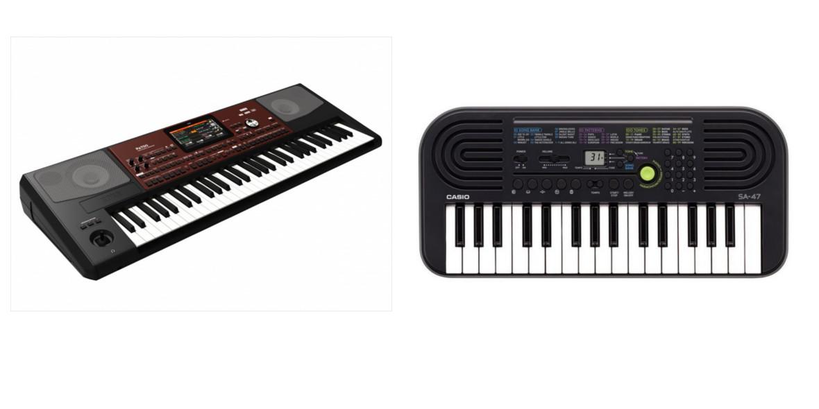 za instrumenty klawiszowe