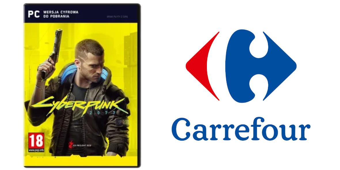 Carrefour: Od 209 zł za grę Cyberpunk 2077 11.12.2020