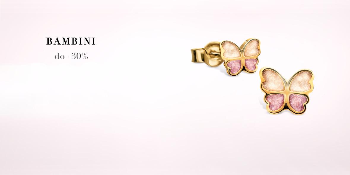 na kolekcję biżuterii dla najmłodszych Bambini