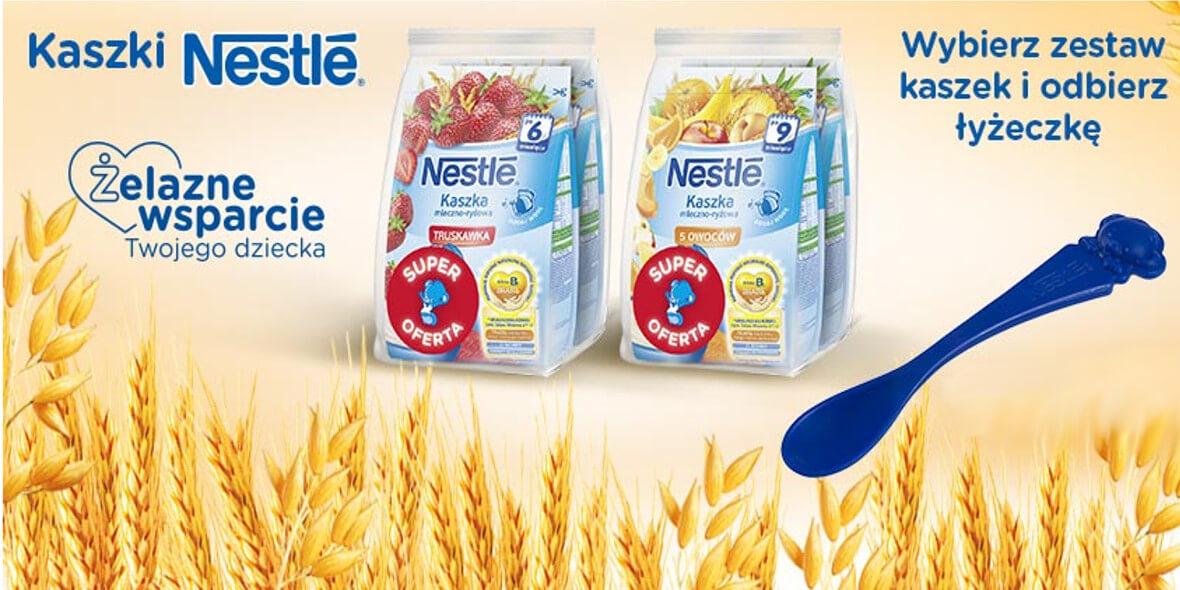 przy zakupie zestawu kaszek Nestle