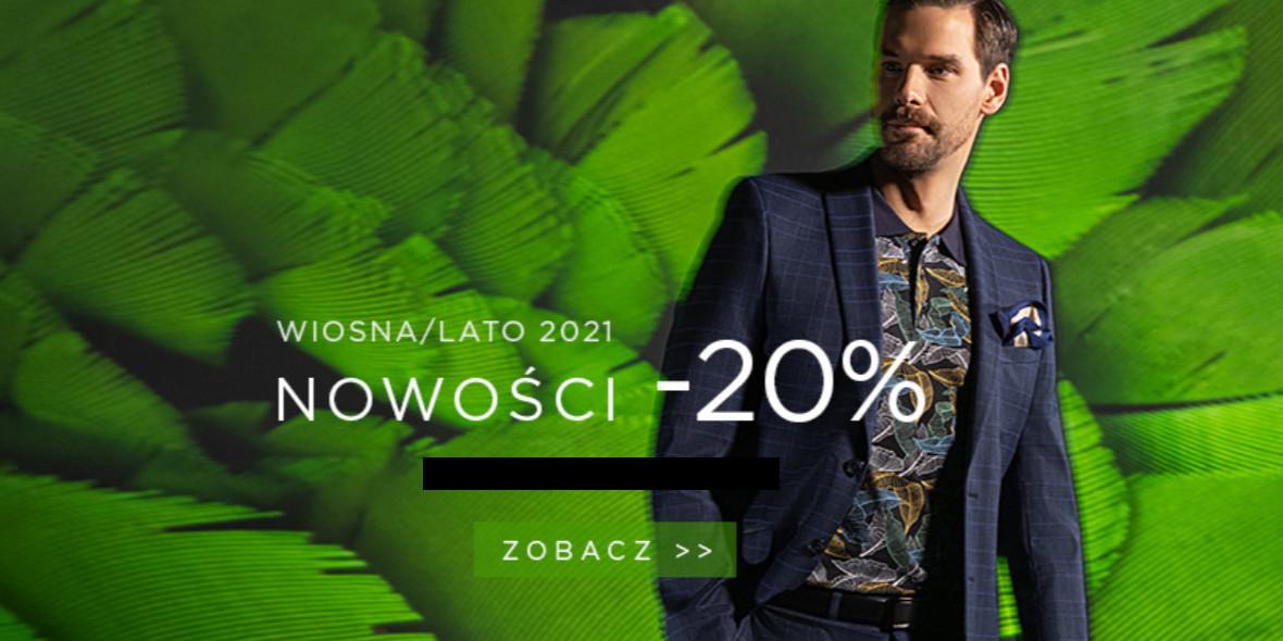 Giacomo Conti: Kod: -20% na nowości 12.04.2021
