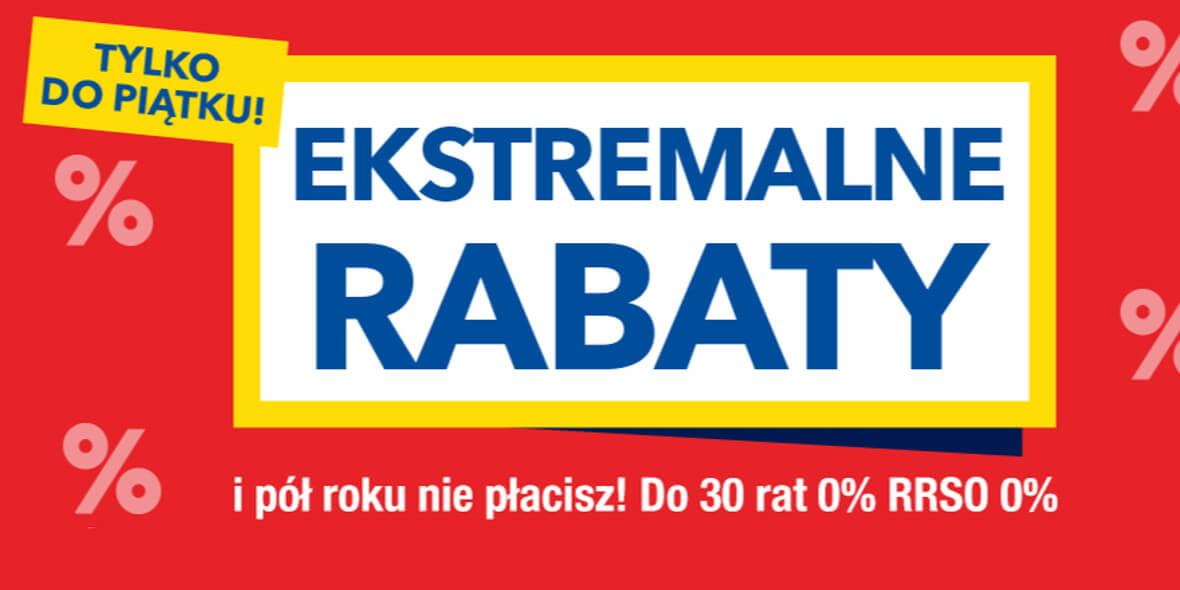 RTV EURO AGD:  Ekstremalne rabaty 03.08.2021