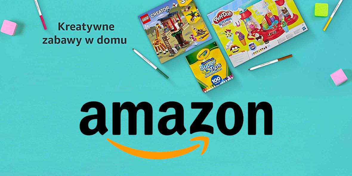 Amazon: Kreatywne zabawy w domu