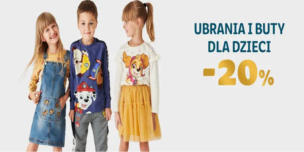 Smyk: -20% na nieprzecenione ubrania i buty 18.10.2021