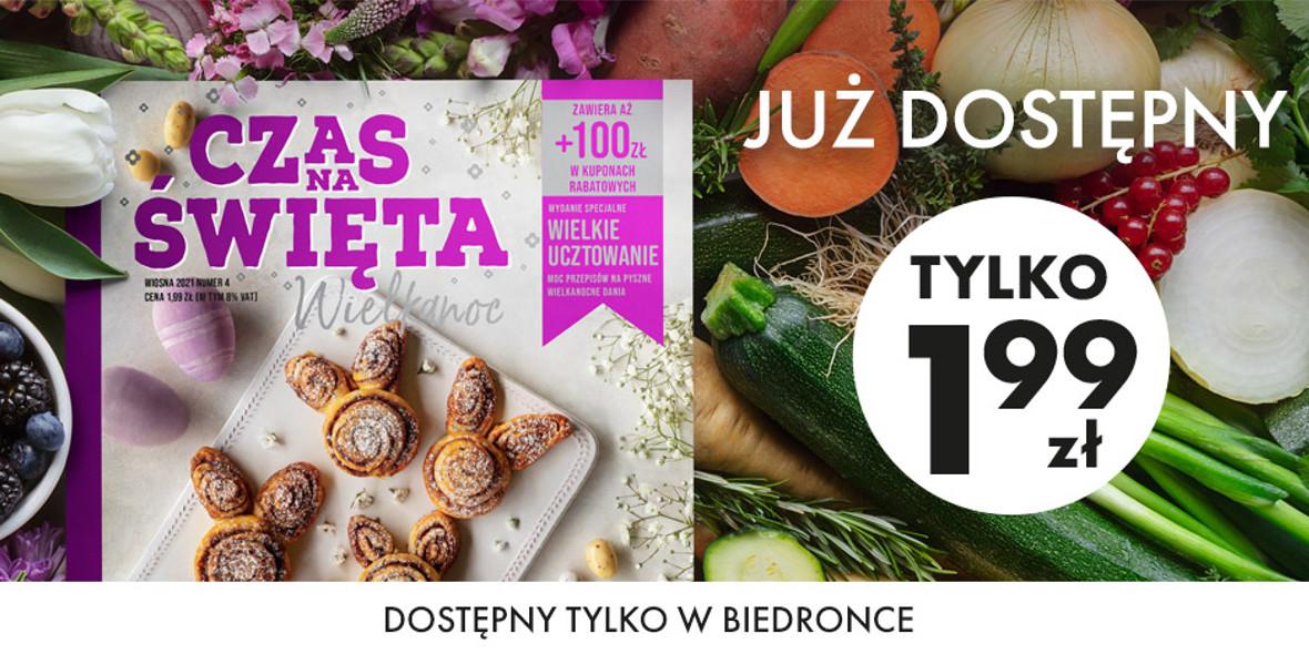 Biedronka:  100 zł w kuponach 05.03.2021