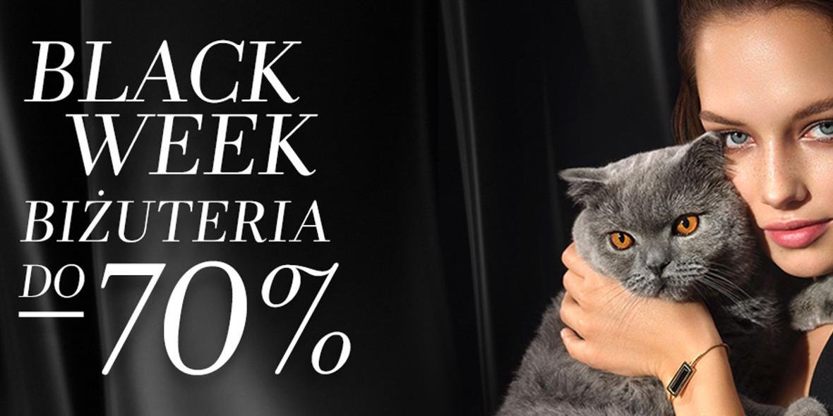 Yes:  Do -70% na biżuterię z okazji BLACK WEEK 01.01.0001