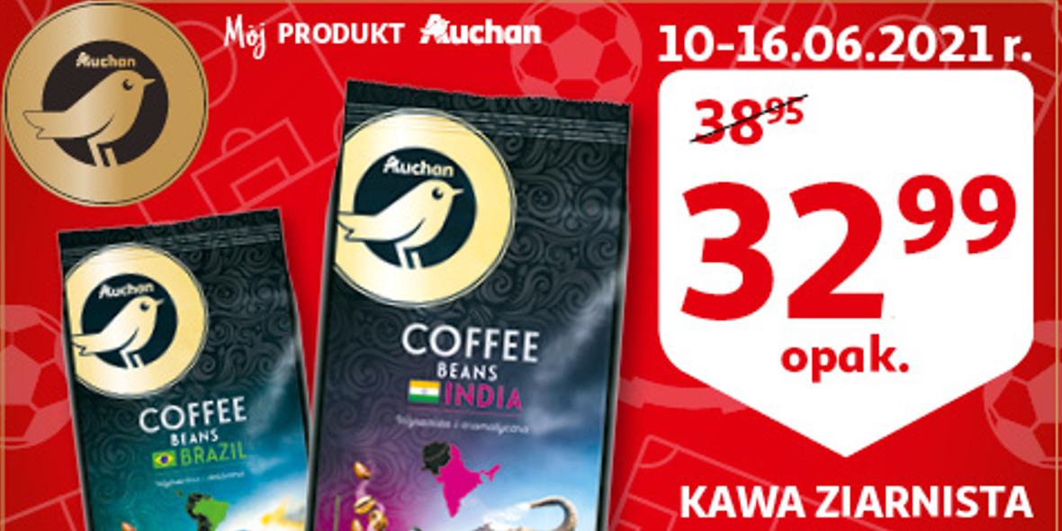 Auchan: 32,99 zł za kawę ziarnistą 01.01.0001