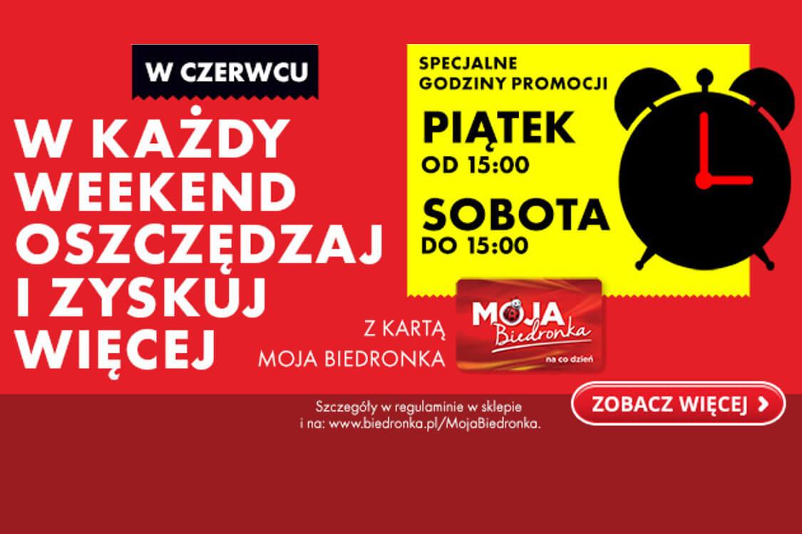Biedronka:  -25 zł  na voucher z kartą Moja Biedronka