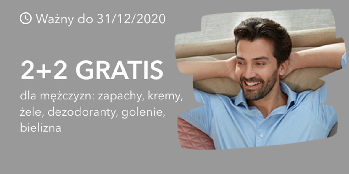 Rossmann: 2+2 dla mężczyzn 18.10.2020