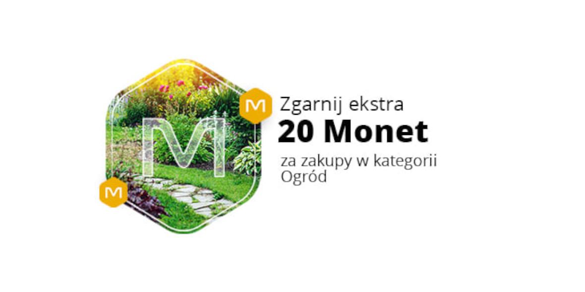 Allegro.pl: +20 Monet przy zakupach w kategorii Ogród 10.05.2021