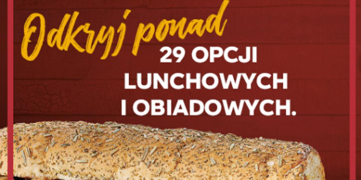 Subway: Propozycje lunchowe i obiadowe