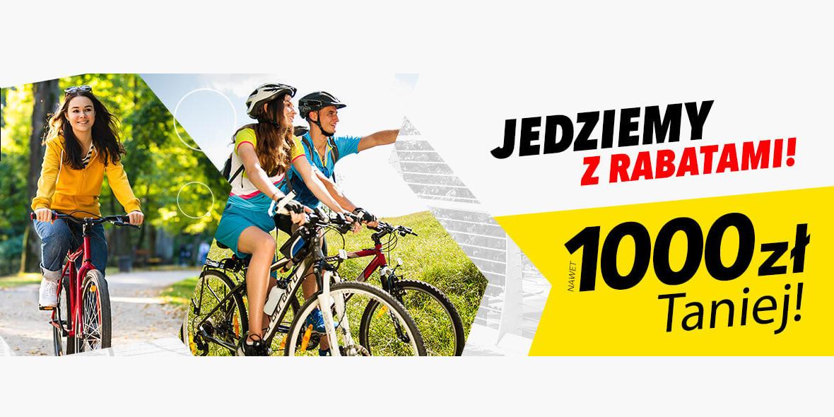 Media Expert: Do -1000 zł na rowery 15.04.2021