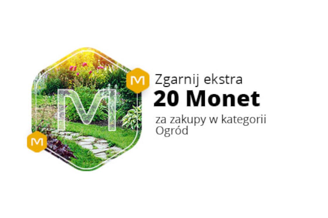 Allegro.pl: +20 Monet przy zakupach w kategorii Ogród