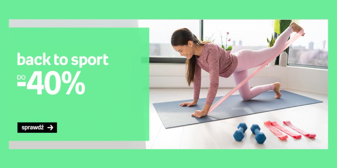 Empik: Do -40% Back to Sport 19.09.2021