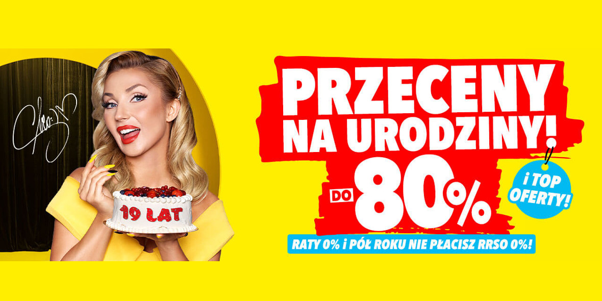 Media Expert: Do  -80% na wybrane produkty na urodziny 17.09.2021