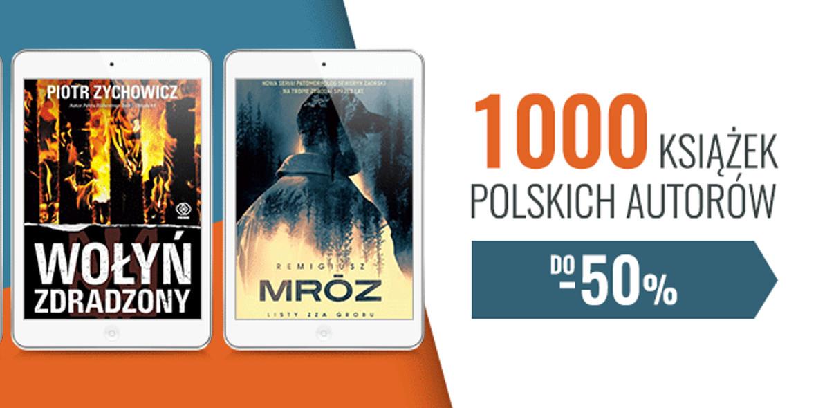 na książki polskich autorów