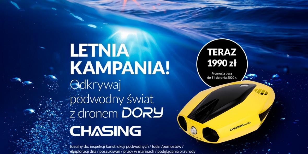 na podwodny dron Chasing Dory