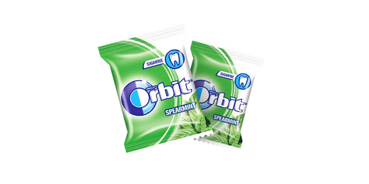 Do każdego posiłku guma Orbit gratis