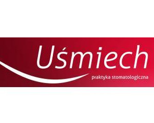 """Logo Praktyka Stomatologiczna """"UŚMIECH"""""""