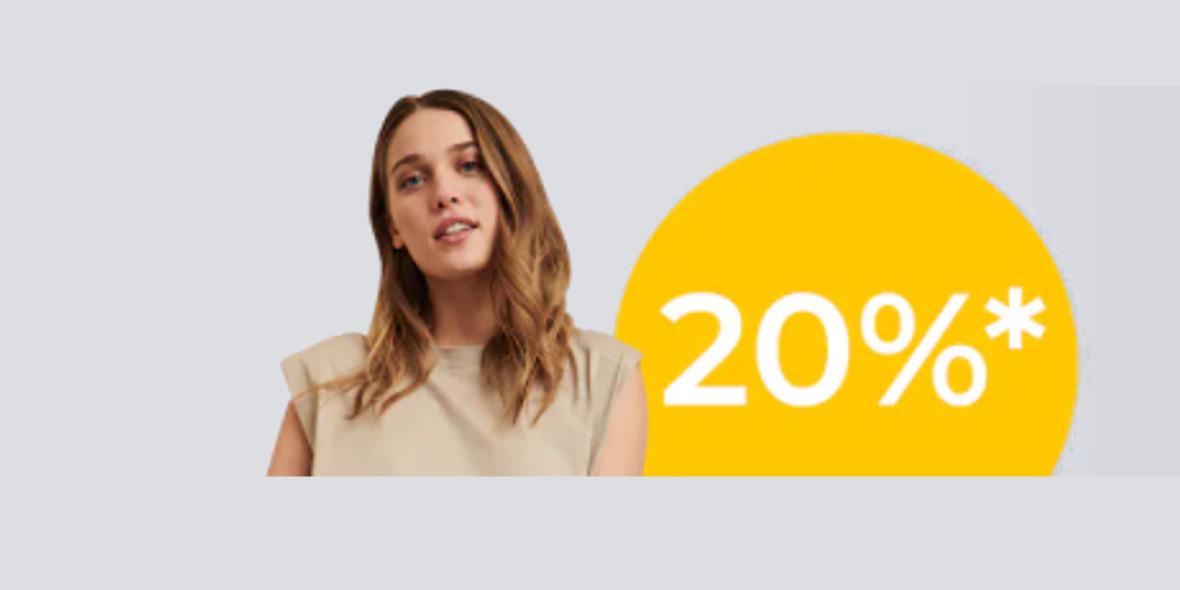 About You:  -20% na Twoje zakupy 21.05.2021