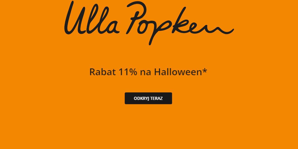 Ulla Popken: Kod: -11% na Halloween 25.10.2021