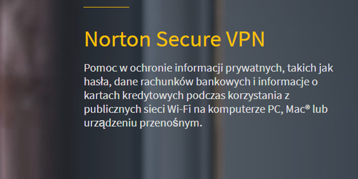 Norton: -50% na Norton Secure VPN
