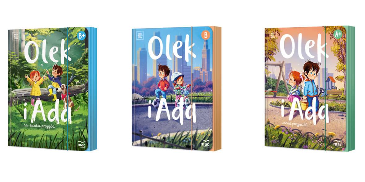 za nowe wydanie Olek i Ada