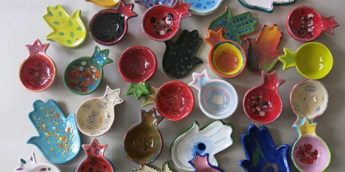 na formę ceramiczną do malowania