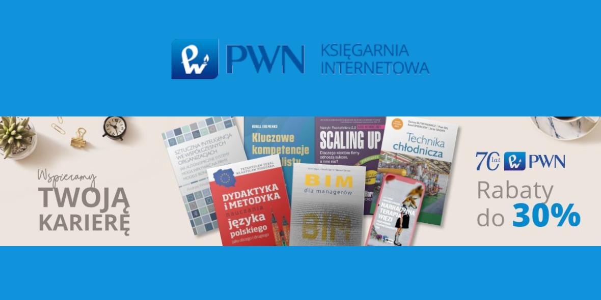 Księgarnia Internetowa PWN: Do -30% na książki dla profesjonalistów 13.04.2021