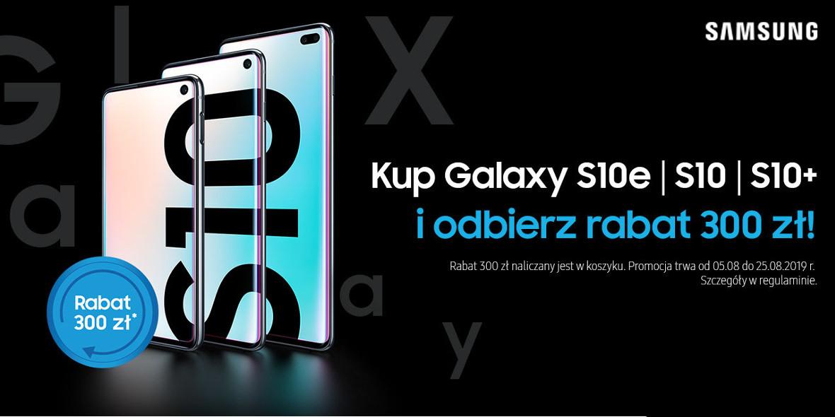 przy zakupie wybranego Galaxy S10
