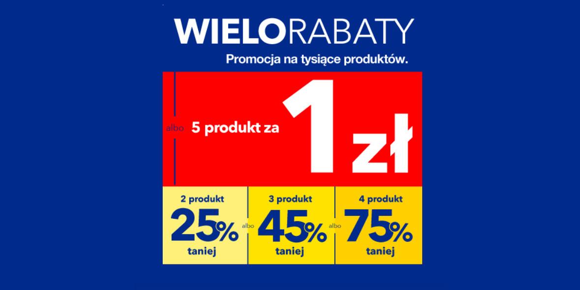 RTV EURO AGD: Do -75% lub piąty produkt za 1 zł 21.09.2021