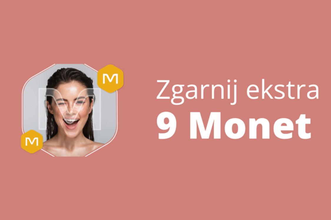 : +9 Monet za zakupy w kategorii Zdrowie i Uroda