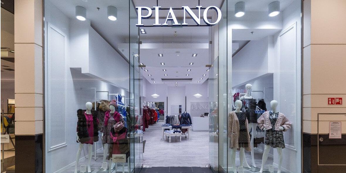 PIANO FASHION : -5% na cały asortyment
