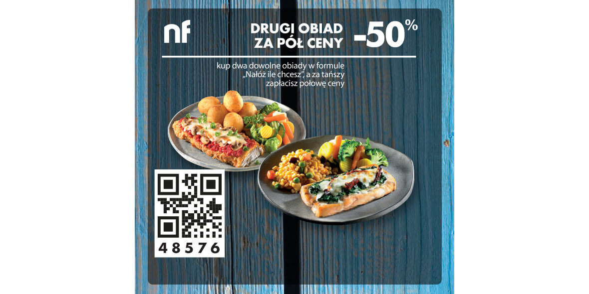 North Fish: -50% drugi obiad 06.07.2020