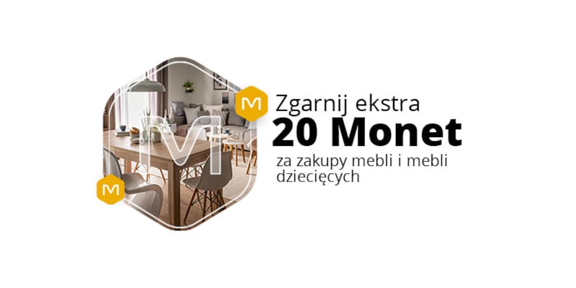 Allegro.pl: +20 Monet za zakupy w kategorii Meble, Meble dziecięce 17.01.2021