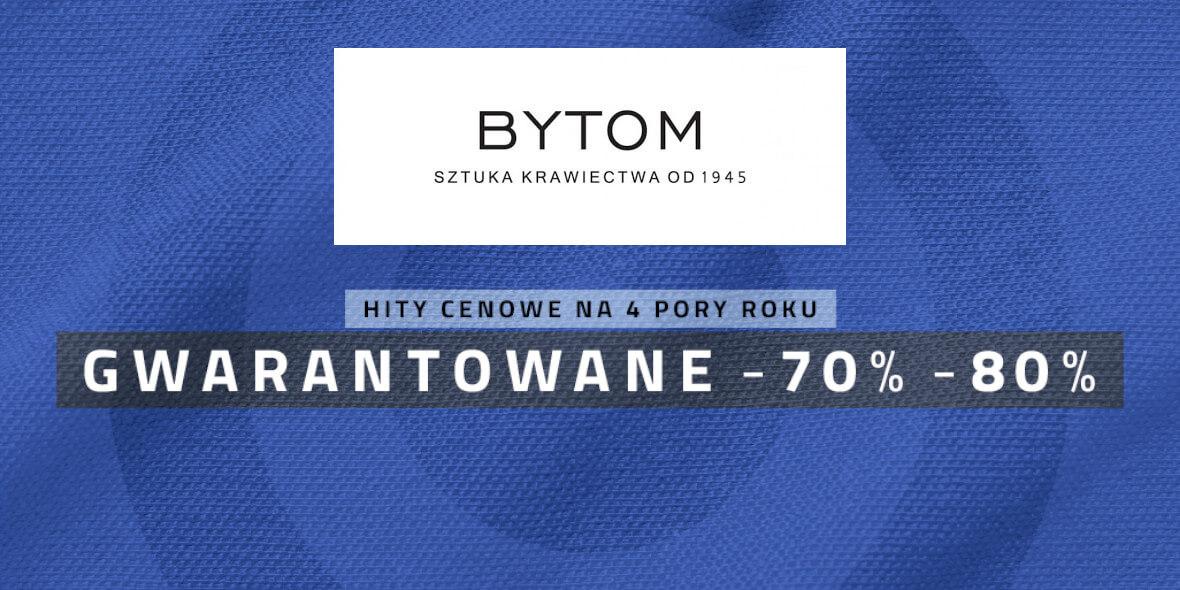 Bytom: Do -80% na wybrane produkty