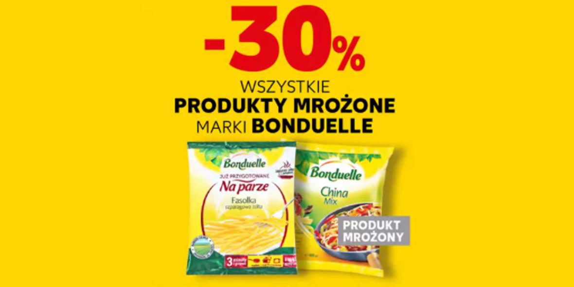 Kaufland: -30% na wszystkie produkty mrożone Bonduelle 20.10.2021