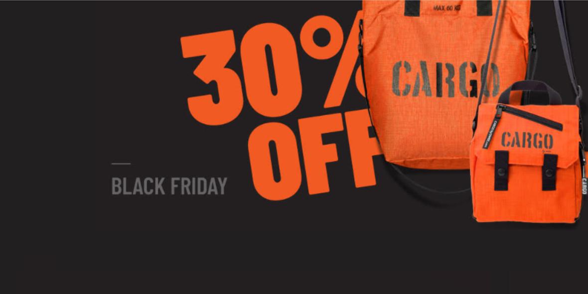CARGO: Do -30% na Black Friday 01.01.0001